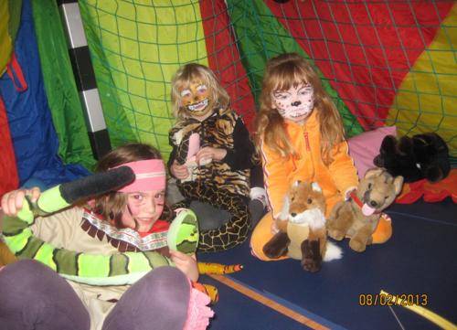 Dschungelparty Kinderturnen Tsv Haubersbronn